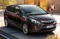 Семейный Opel Zafira